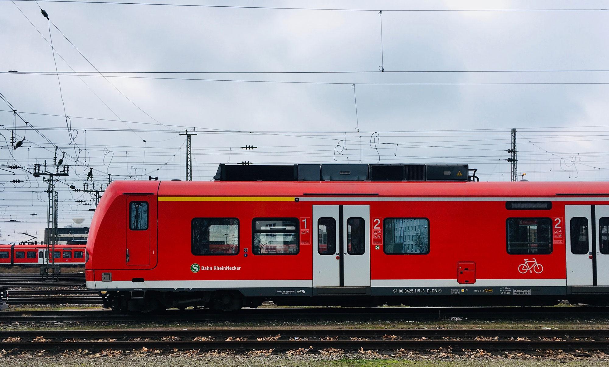 Zugspitze SBahn RNV