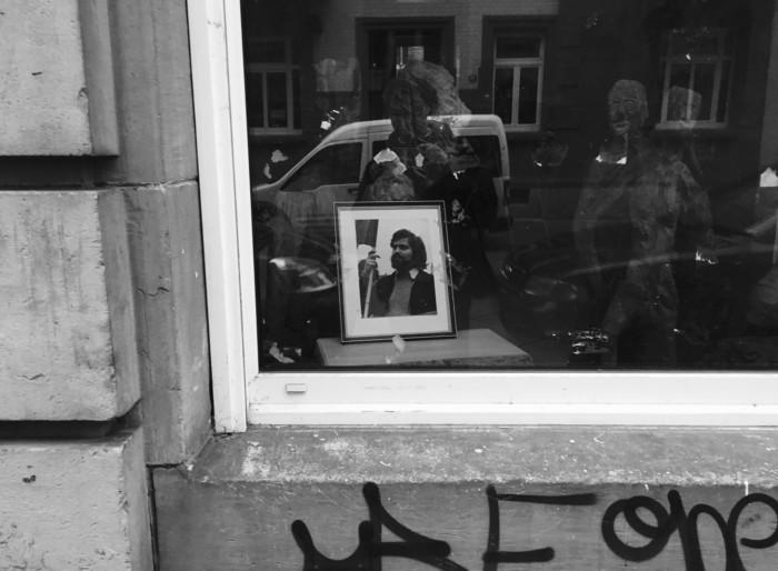 Foto: Bild im Schaufenster