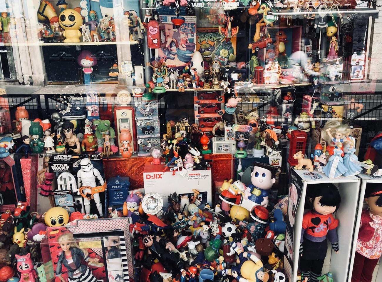 Spielzeug in Paris