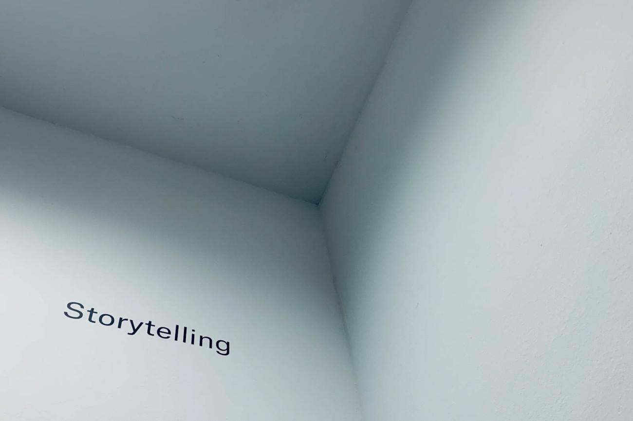 Storytelling Ecke