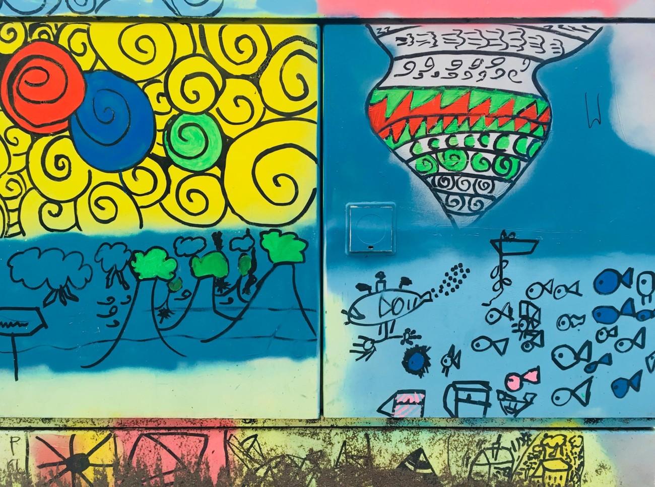 Stromkasten Grafitti