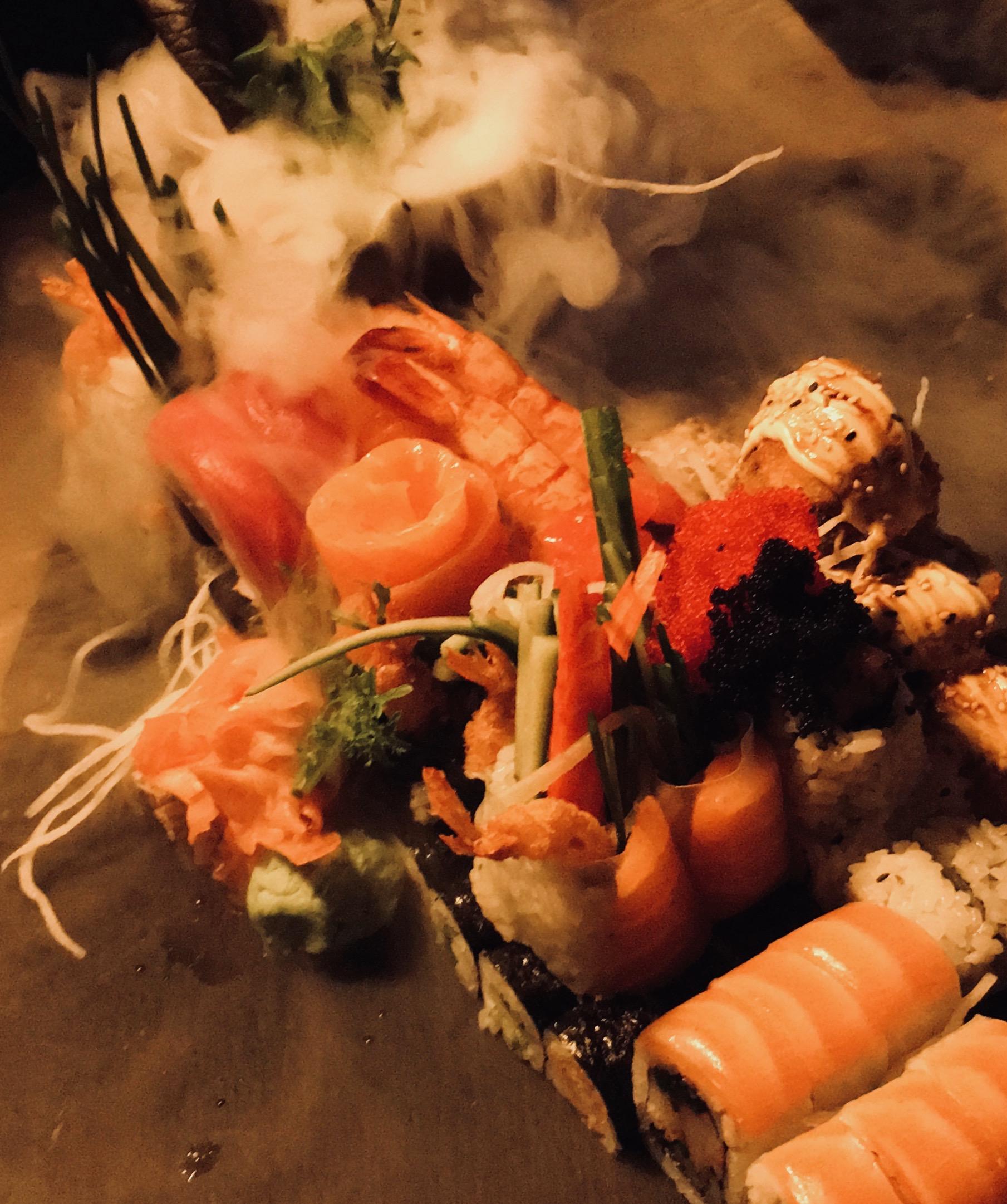 Sushi im Koza in Hassloch