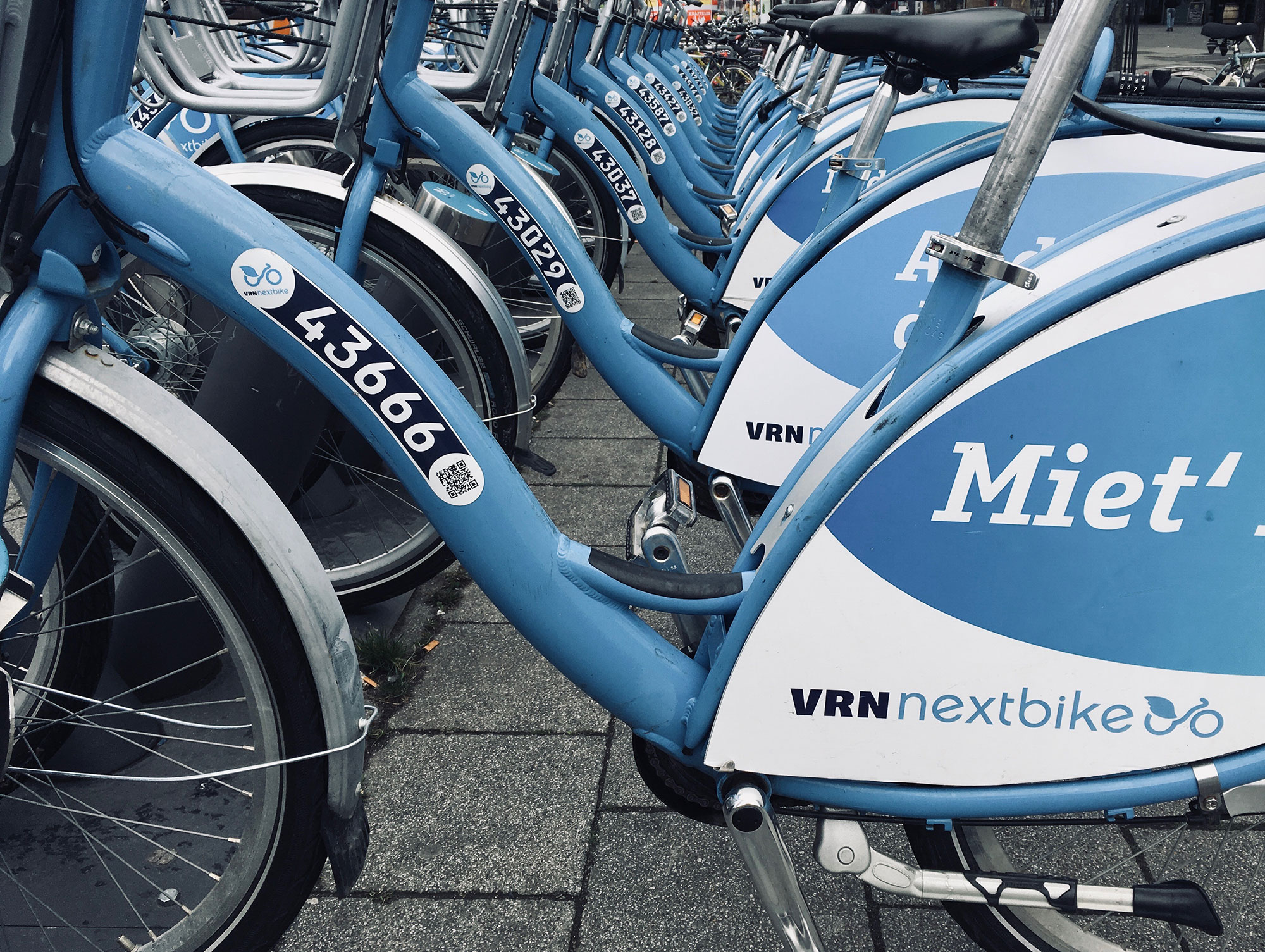 VRN Nextbike Sammelstelle