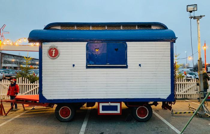 Zirkuswagen des Zirkus Bossert