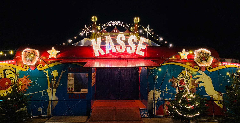 Zirkus in der Nacht