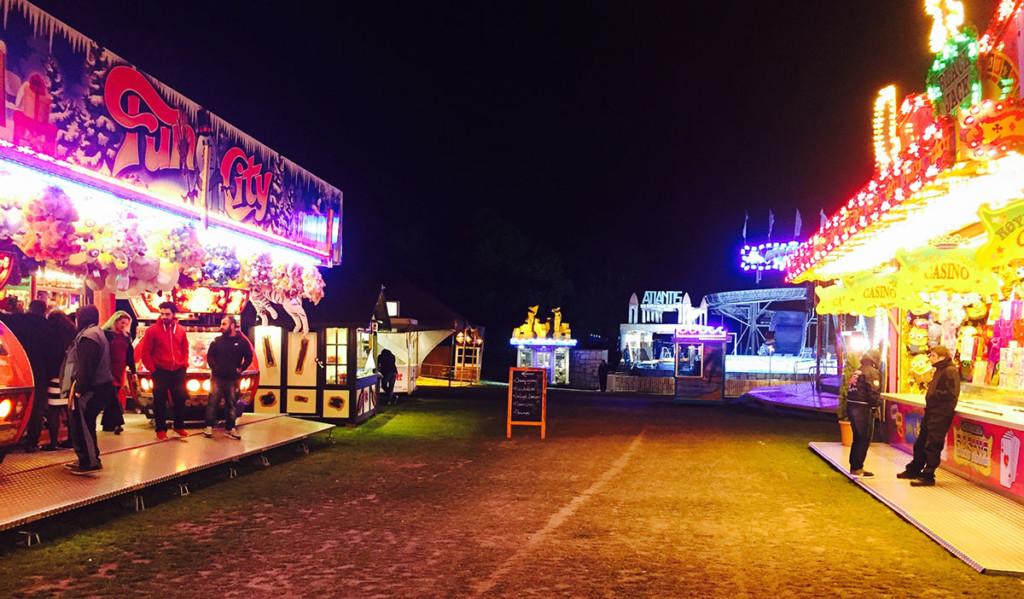 re:publica - Einsame Kirmes in der Nacht