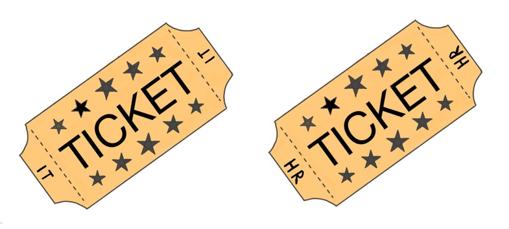 Tickets bei der Hotline