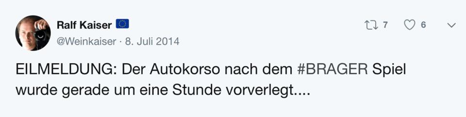 Tweet Schablone Eilmeldung