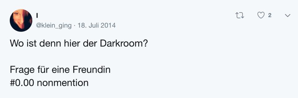 Tweet Schablone Frage für eine Freundin
