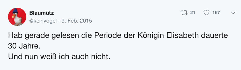 Tweet Schablone Und nun weiß ich auch nicht.