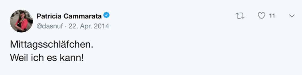 Tweet Schablone Weil ich es kann