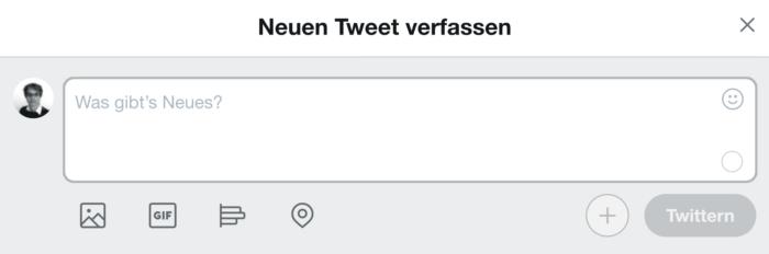 Twitter - Was gibt's Neues?