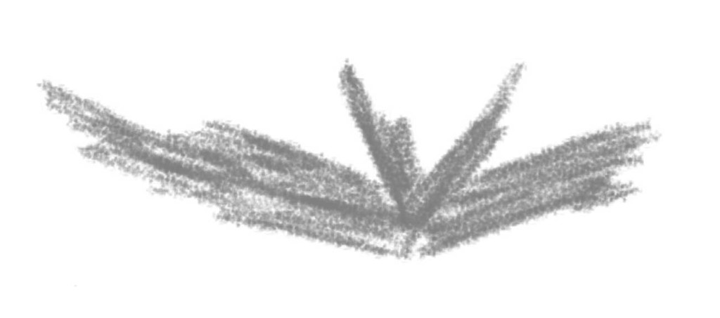 Skizze: Batman Symbol