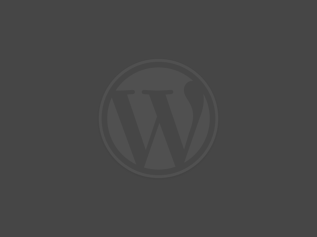 WordPress Logo Official Dark (WordPress.org)
