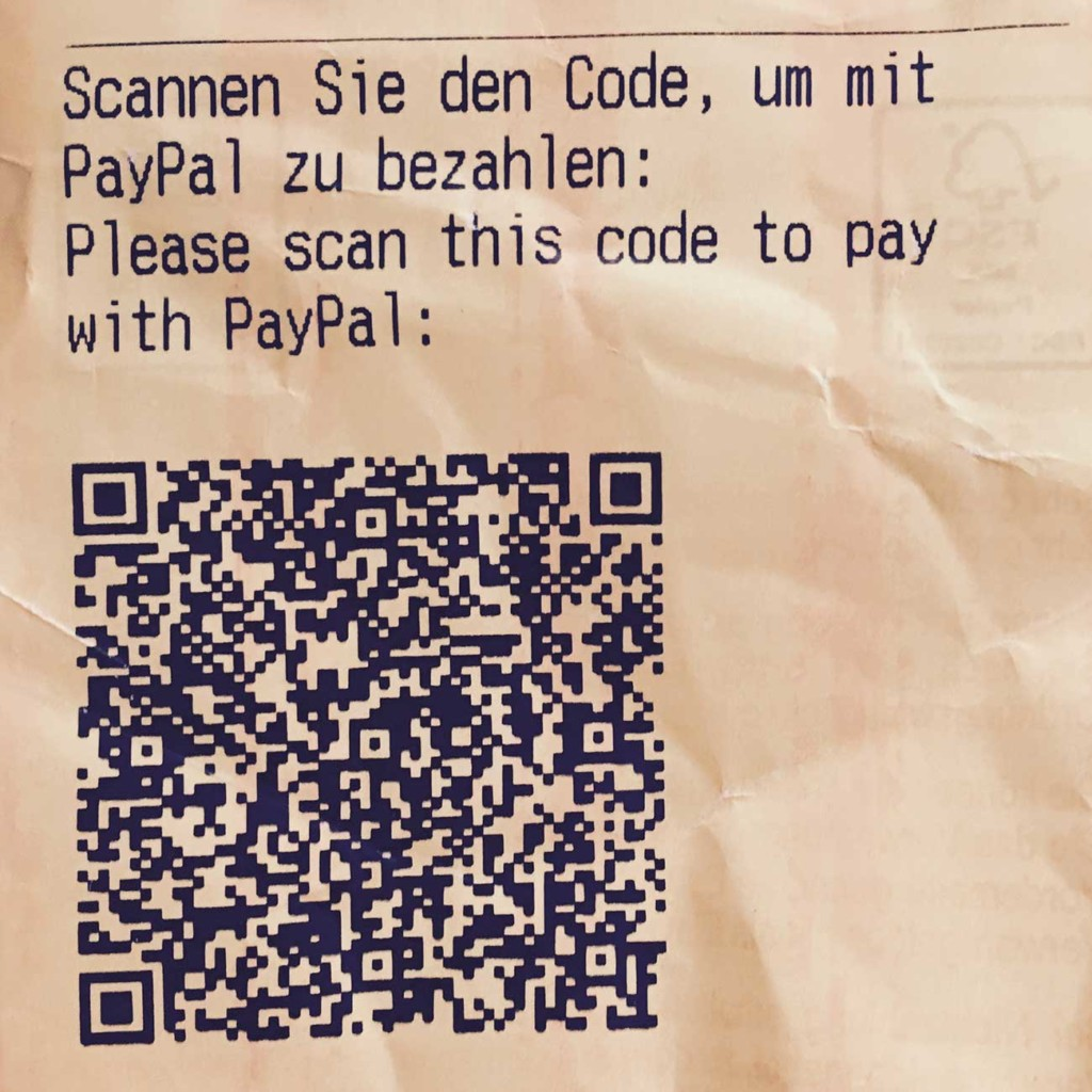 Falsch geparkt: Sofort zahlen mit QR-Code und Paypal
