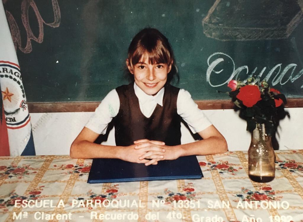 Christina als Teen